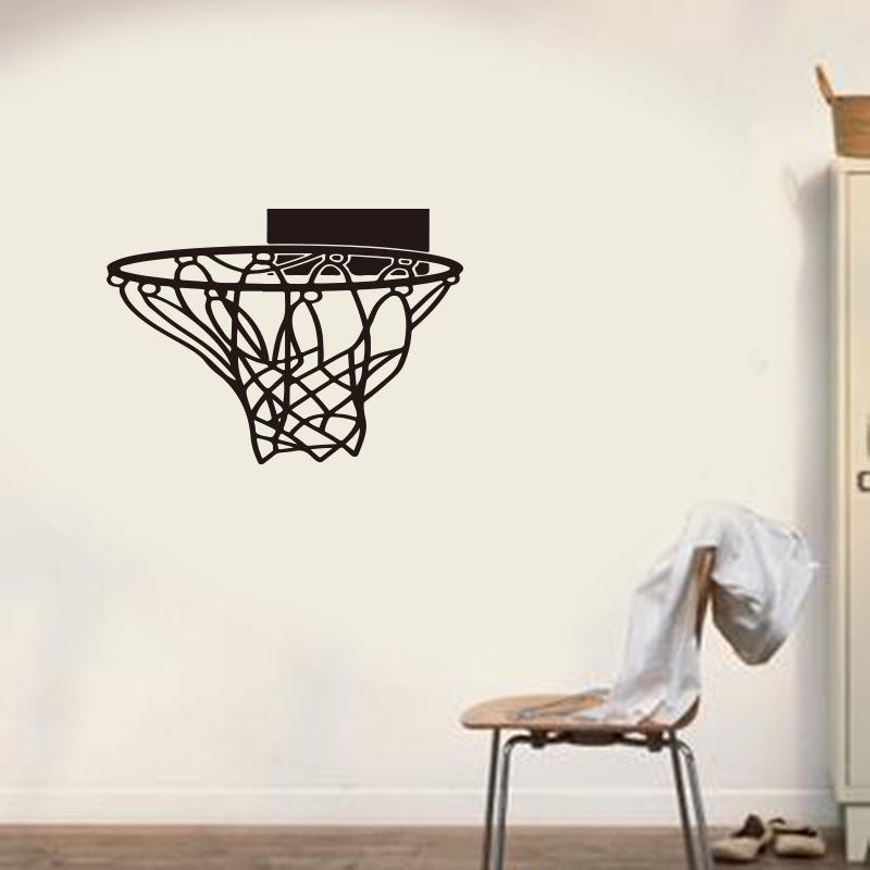 Generation Basketball Hoop Removable Wall Stickers Gym Bedroom Sofa Background Home Decor Sticker Vinyl Mural