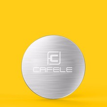 CAFELE Original 1pcs Stell Sheet for CAFELE Magnet Holder And 1pcs Pasted Plate for Magnet Holder cheap Universal Stainless Steel