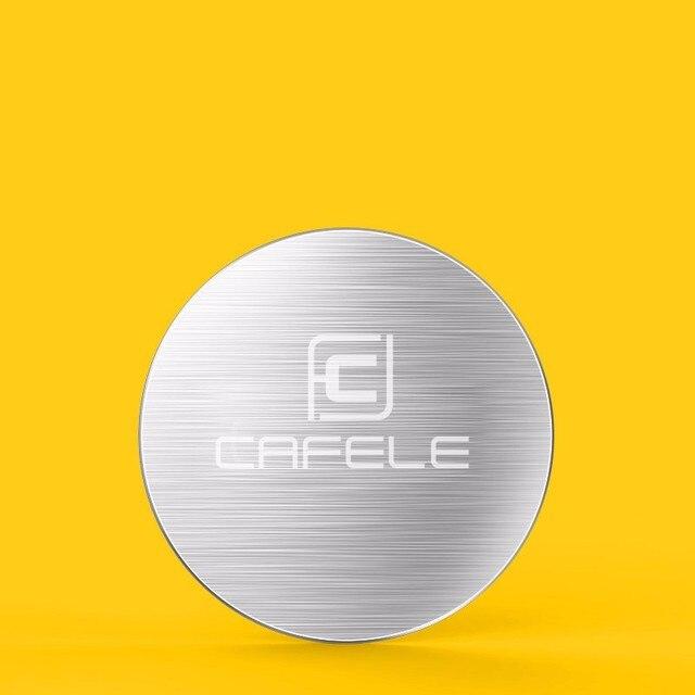 CAFELE Original 1pcs Stell Sheet for CAFELE Magnet Holder And 1pcs Pasted Plate for Magnet Holder