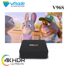 Vmade v96S Android 7. X96 мини Smart ТВ коробка Allwinner_H3 4 ядра 1 + 8 Поддержка M3U youtube Беспроводной WI-FI media BOX телеприставки