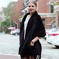 2016 новый горячий продажа вязать норки шаль женская мода элегантный сплошной цвет бахромой платок