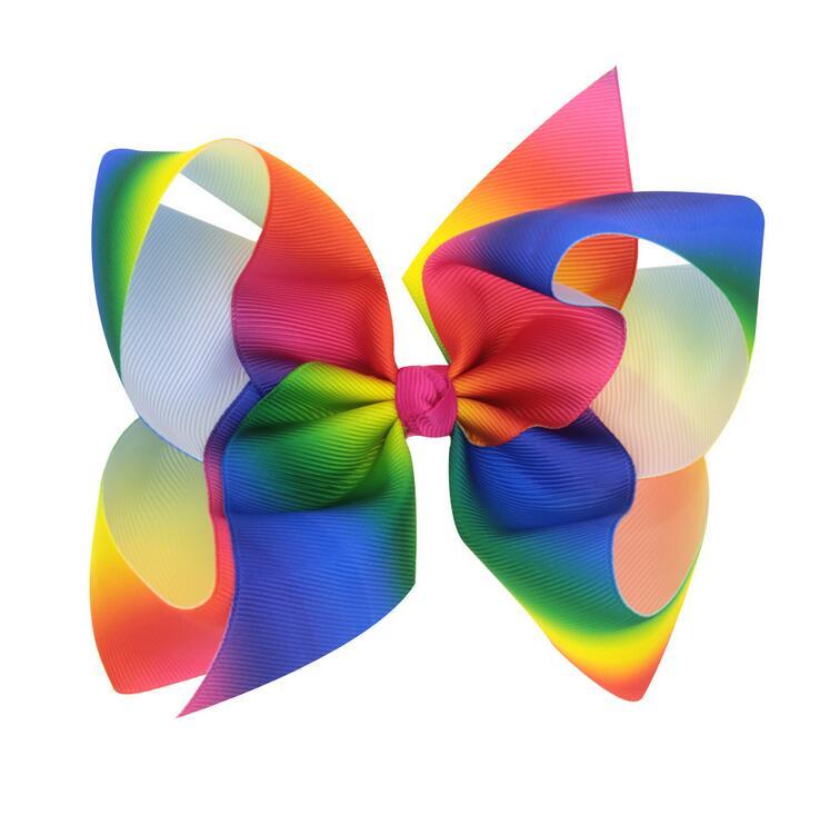 rainbow hairbow6