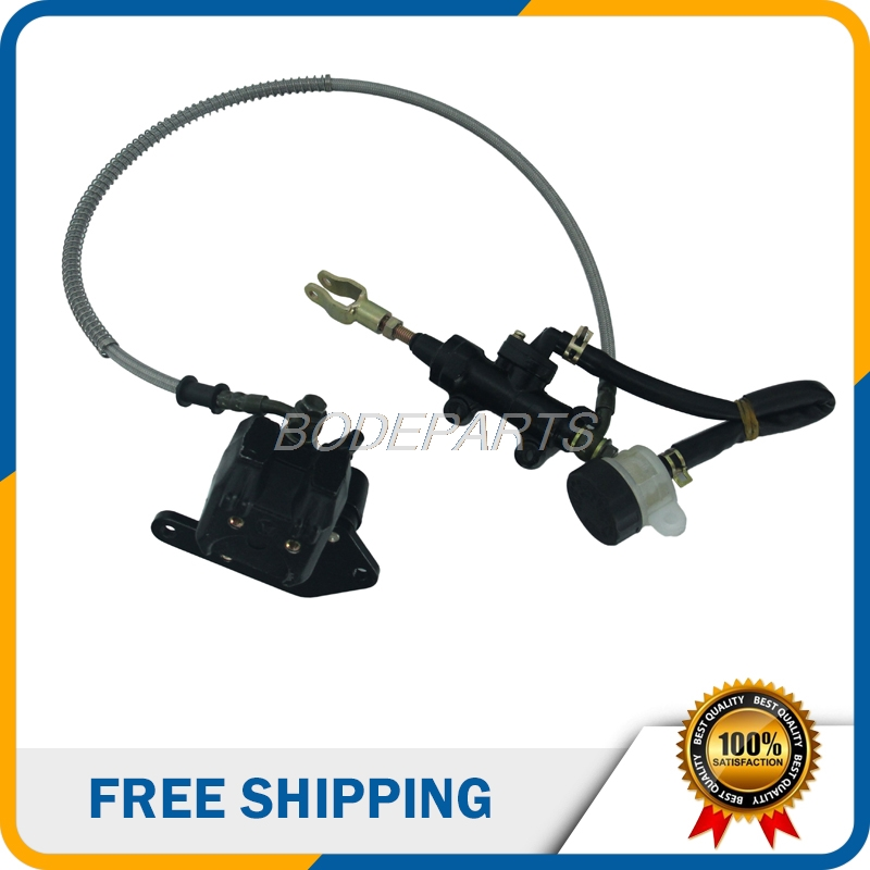 High Quality Motorcycle Parts Motorcycle Rear Disc Brake Assy With Oiler For Dirt Pit Bike ATV Off Road Bike Free Shipping