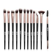 12pcs/set Professional Makeup Brushes Set Eyeshadow Mix Eyeliner Eyelash Brush Tool Cosmetic Make Up