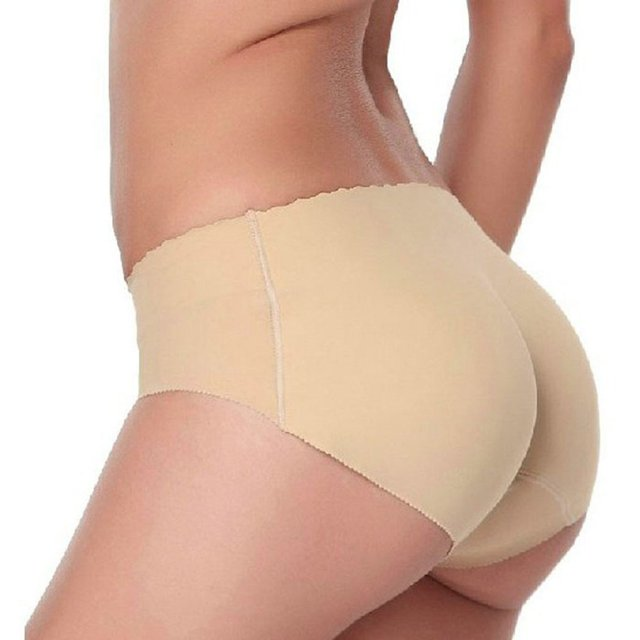 48c372e06800 1Pc Women Sexy Panty Butt Hip Up Padded Enhancer Shaper Soft Underwear  Panties Low Waist Seamless Bottom Abundant Female Panties