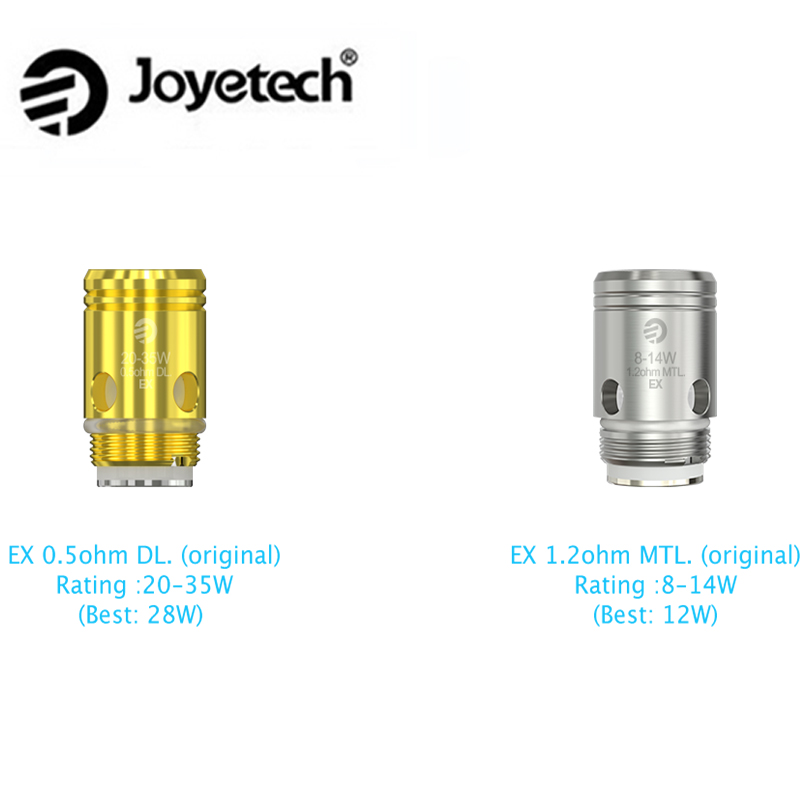 5pcs Authentic Joyetech EX Coil Head for Exceed