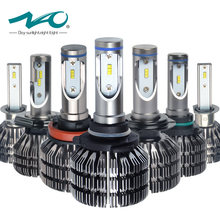 NAO H4 LED Headlights H7 led Bulb H11 Auto Lamp H8 H9 H1 HB3 9005 HB4 9006 9003 HB2 Hi Lo 25W 3000LM 12V 24V 6000K White V5(China)