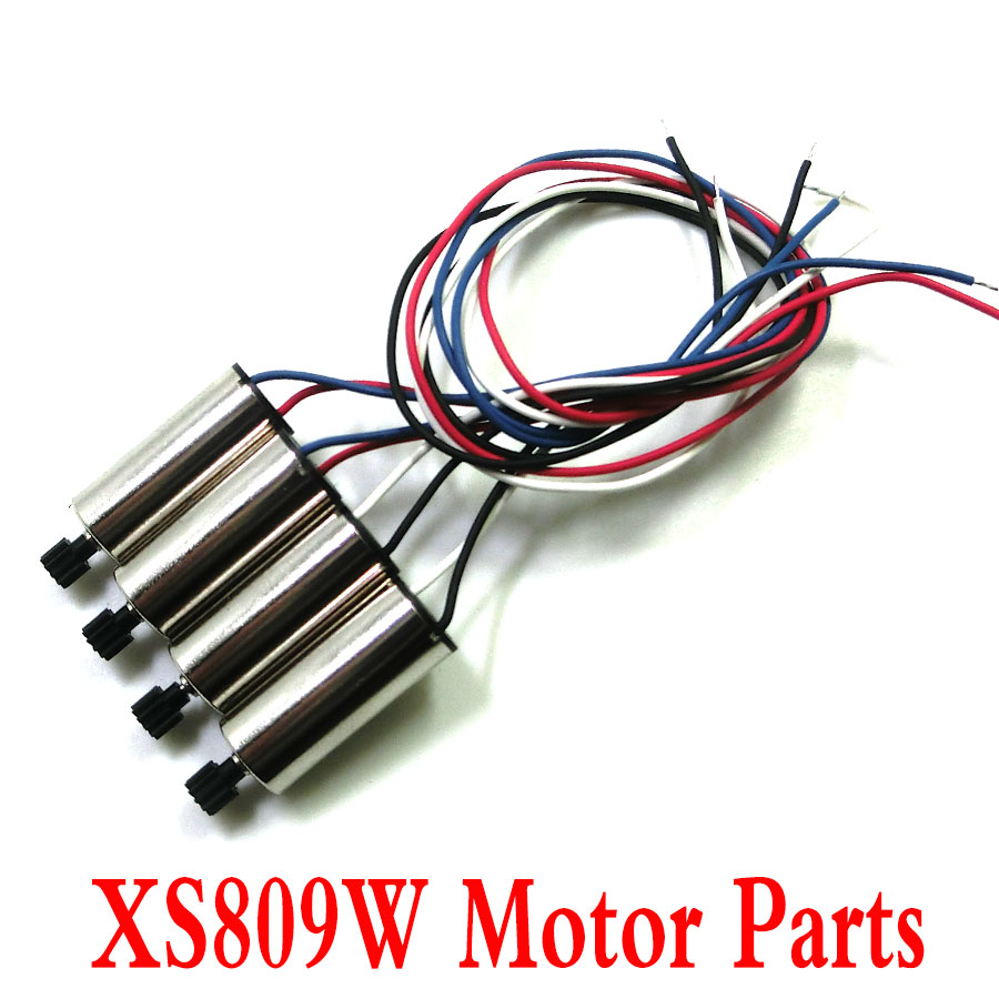 Visuo XS809W XS809HW Drone Original Parts Motors Engines RC Helicopter Quadcopter Spare Parts CW/CCW Motor tomcat 2812 900kv 15t brushless motor outer rotor cw ccw motor for rc helicopter model spare parts blue color