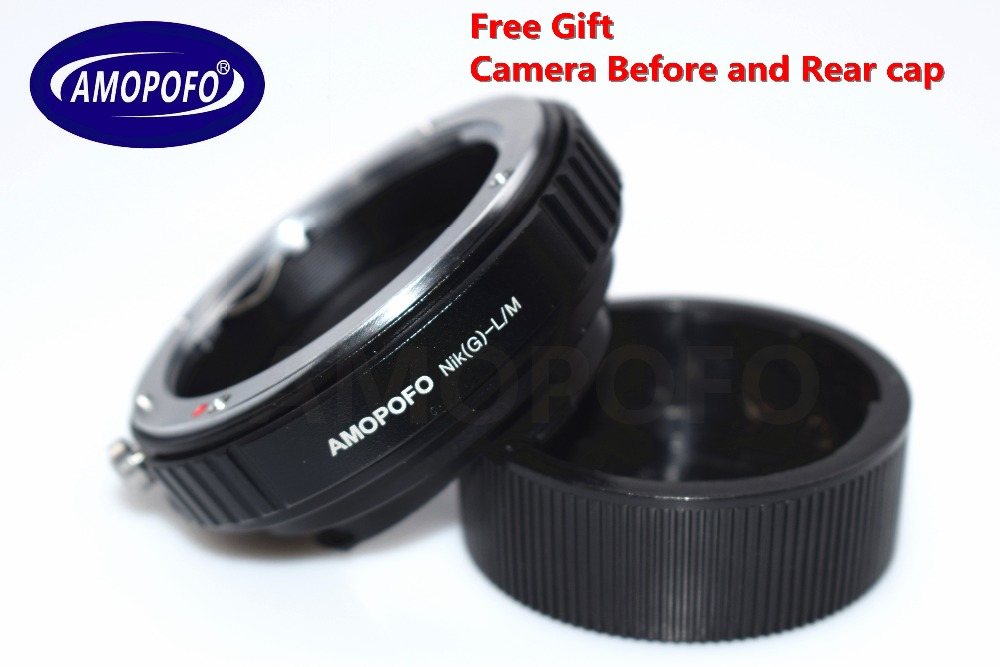 N / G-LM Adapter für Nikon G AI A F Objektiv auf Leica M L / M 9 M 8 - Kamera und Foto - Foto 1