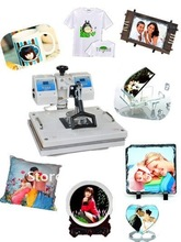 5 in 1 Heat press/transfer machine/Dual-core heat pressing machine
