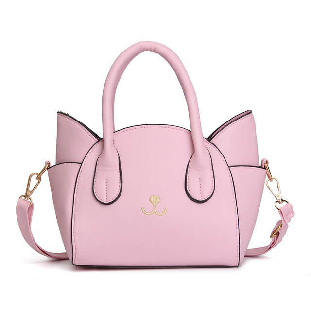 New Mini Cat Leather Handbag