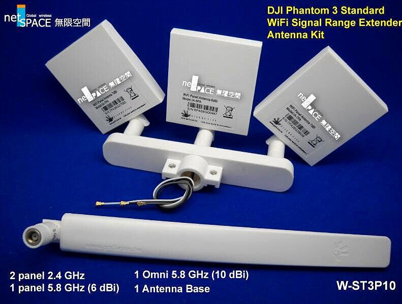 US $69 99  ARGtek W ST3P10 for DJI Phantom 3 Standard WiFi Signal Range  Extender Antenna Kit 10 dBi Omni-in Parts & Accessories from Toys & Hobbies  on