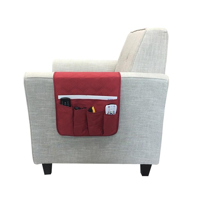 Admirable Us 3 55 38 Off 4 Pockets Tv Remote Control Holder Sofa Arm Rest Organizer Storage Bag Pouch Pocket Table Organizer 9M20 In Storage Bags From Home Lamtechconsult Wood Chair Design Ideas Lamtechconsultcom
