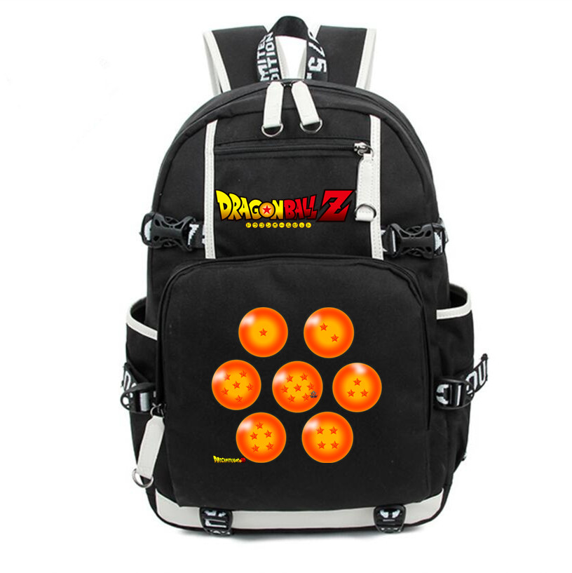 DragonBall Z DBZ 1 7 Star Backpack Knapsack Packsack ...