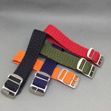 1PCS 18MM nylon straps perlon straps weave straps watch strap Watch band 12 colors available -PS002 все цены