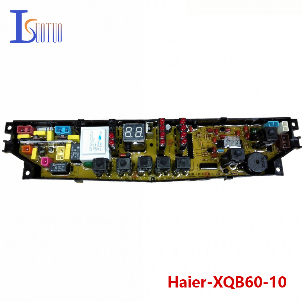 Haier washing machine brand new computer board XQB60-10 XQB56-10 XQB60-10DZ XQB60-10A free shipping 100% tested washing machine board for haier xqb50 0528 xqb60 0528a on sale