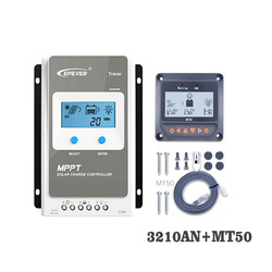 Tracer3210AN 30A MPPT Zonnepaneel Lading mobiele batterij lader controle 3210AN 3210A met MT50 Remote Meter LCD Display