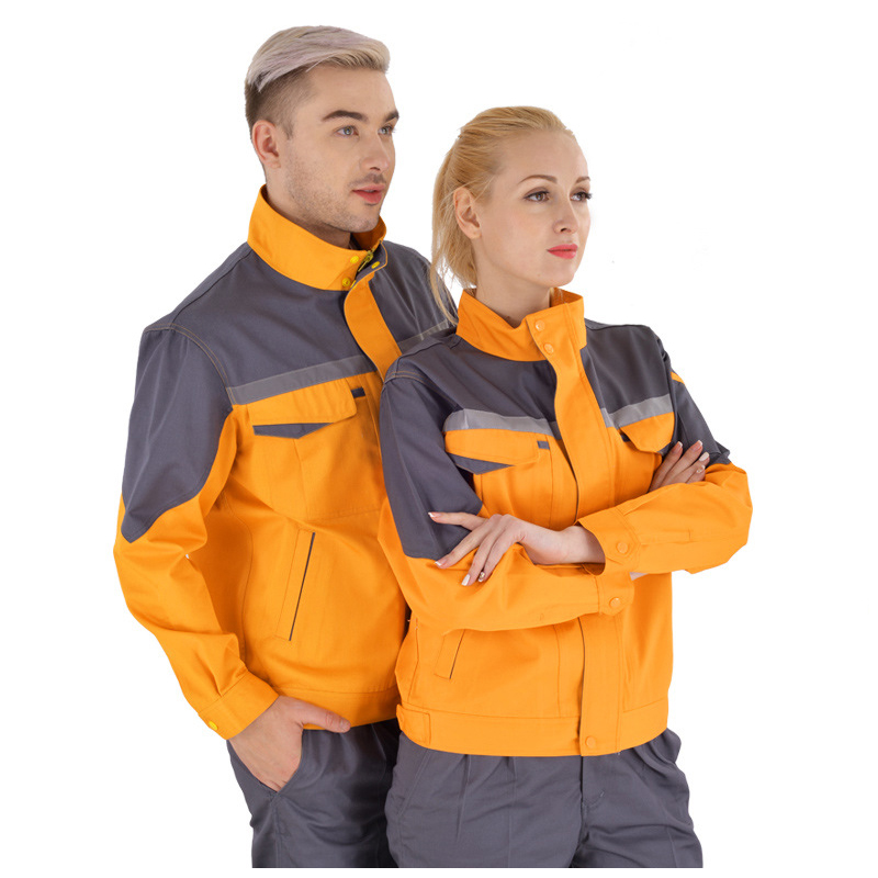 working clothes men woman Welding machine repair large size Coveralls stitching protective safety work jacket cleaning