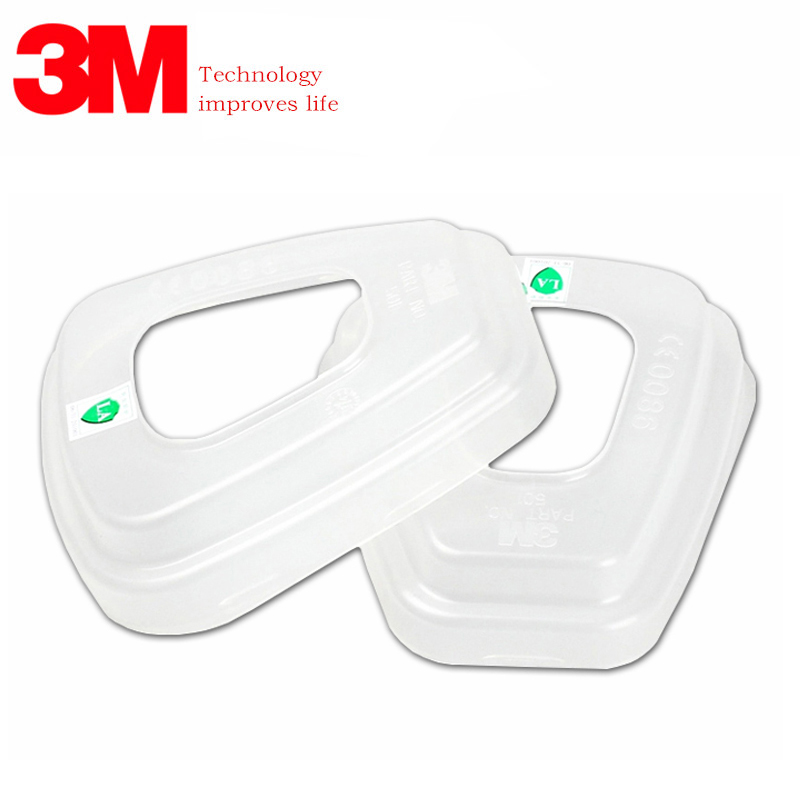 3M 501 Filter Cover Genuine Packaging High Quality 5N11 Filter Cotton Cover 6200/7502 Mask Filter Cover Gas Mask Accessories