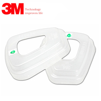 3M 501 Filter cover Genuine packaging high quality 5N11 filter cotton cover 6200/7502 mask filter cover Gas mask accessories|Chemical Respirators| |  -