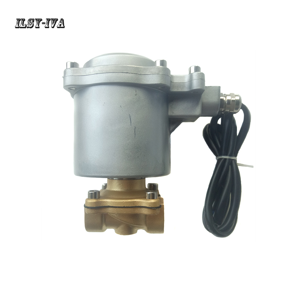 DC12V/24V Explosion proof type stainless steel electromagnetic valve for micro methane combustion machine cctv security explosion proof stainless steel general bracket