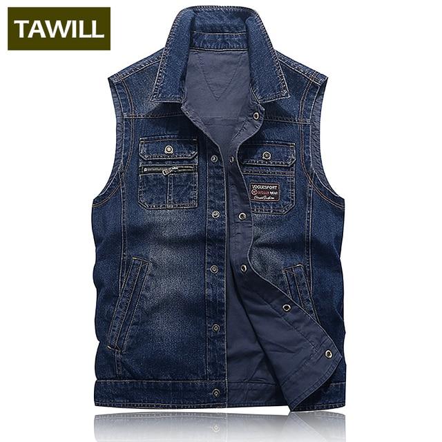 hot sale online 47c54 8eb92 TAWILL-Mode-Hommes -Ripped-Denim-Gilet-Slim-Fit-Afflig-Sans-Manches-Jeans-Veste-Pour-Homme -Noir.jpg 640x640.jpg