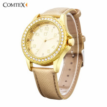 COMTEX Women Watches 2017 Luxury Brand Design Fashion Watch Ladies Watch Waterproof Wristwatch Women Clock Relogios Horloge