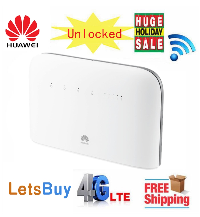 Unlocked Huawei B715s 23c LTE Cat9 450Mbps 4G LTE Band 1/3/7/8/20/28/32/38 WiFi CPE VOIP Router