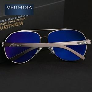 Image 5 - VEITHDIA אלומיניום מגנזיום Mens משקפי שמש מקוטב עדשת משקפיים שמש לגברים משקפי אביזרי oculos דה סול masculino 2605