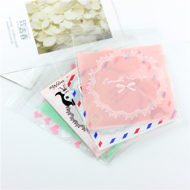 Opp Jewelry Package Cute Bracelets Earring Necklace Bag Bags Gift Package 10cm*12cm #1200