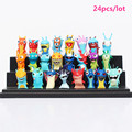 Cartoon Kids Mini Figuras Toys Slugterra and Slugs PVC Action Figure Model Toy Set 24pcs/16pcs