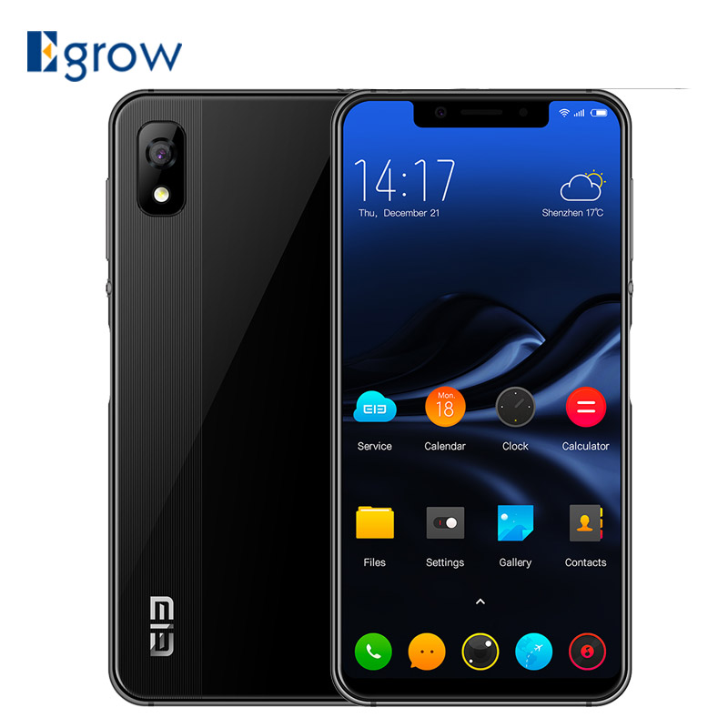 Elephone A4 Mobile Phones 4G 5.85 inch 1512x720 Android 8.1 Smartphone MTK6739 Quad Core 3GB 16GB 8.0MP 3000mAh OTG Fingerprint