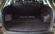 Für 2017 Skoda Kodiaq hinten schwanz kofferraum-matte dauerhaft boot teppiche