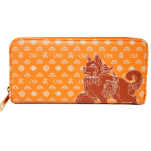 Feng Shui Lucky Fu Dog Wallet (BROWN) (thick)(China)