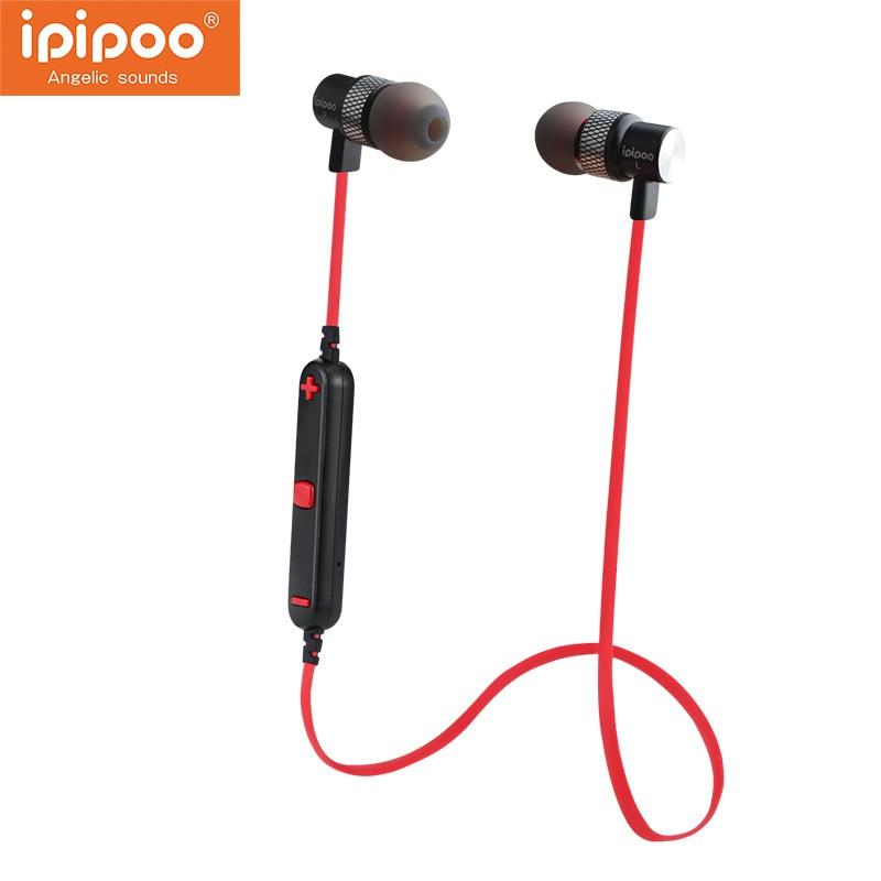 bilder für Bluetooth 4,2 Kopfhörer Drahtlose Sport Kopfhörer mit Mikrofon Bluetooth Headset Für Iphone Xiaomi Huawei Samsung Ipipoo 91bl