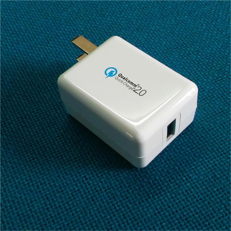 Quick Charge 2.0 18W USB Turbo Wall Charger QC 2.0 Cargador rápido - Accesorios y repuestos para celulares - foto 2