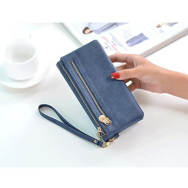Double Zipper Wallet 1