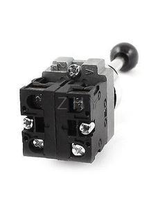 Image 3 - AC 600V 10A 22mm DPST 2NO 3 עמדה עצמית נעילת ג ויסטיק הדק מתג