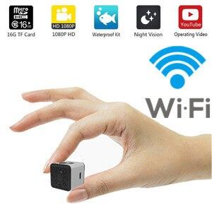 WIFI SQ13 HD mini cámara WIFI cámara pequeña 1080P impermeable mini cámara dv inalámbrica DVR video deporte micro videocámaras SQ 13