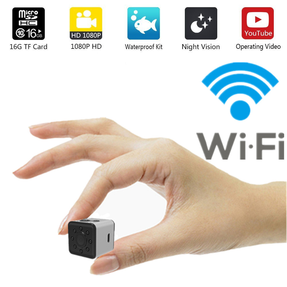 WIFI SQ13 HD mini kamera WIFI kleine kamera cam 1080 p Wasserdichte mini wireless dv kamera DVR video Sport micro camcorder SQ 13