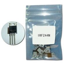10 шт./компл. Mosfet IRFZ44N TO220 транзисторный комплект IRFZ44-220 транзисторы наивысшей мощности IRFZ44NPBF 49A 55В полевой транзистор