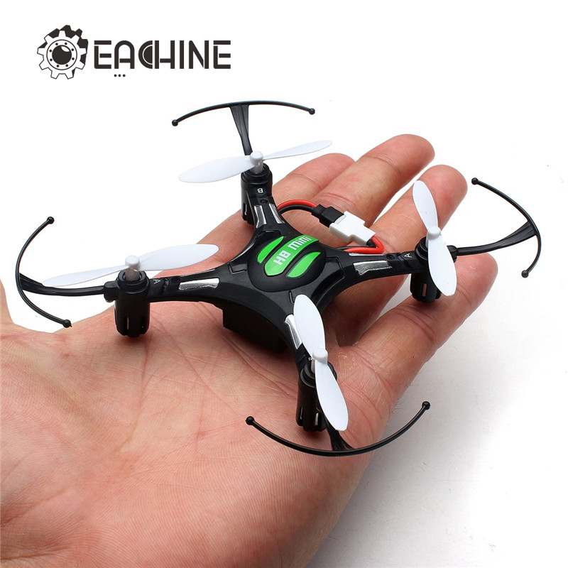 Eachine H8 mini headless RC helicóptero modo 2.4g 4ch 6 eje quadcopter RTF Control remoto juguete