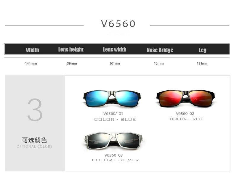 6568f10d03 VEITHDIA Original Brand Logo HD Aluminum Magnesium Men Mirror Driving  Glasses Goggles Oculos De Sol Polarized Sunglasses 6560-in Sunglasses from  Apparel ...