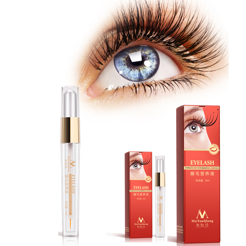 Nature Eyelash Growth Serum Nourishing Fluid Repair Slender Eyelashes  Eyebrows Curling Thick Eyelash Growth Treatments Liquid 480ea7ff40