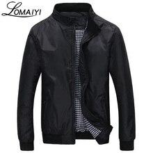 LOMAIYI Fashion Male Jacket Coat Men 2018 Spring Business Casual Clothes Summer Thin Windbreaker Mens Black Bomber Jackets,BM041