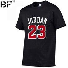 2018 New Brand Clothing Jordan 23 Men T shirt Swag T Shirt Cotton Print T shirt