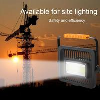 50W Portable Rechargeable COB LED Work Light 1500LM Multifunctional Camping Lamp led outdoor flood light