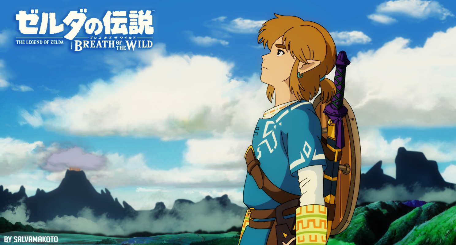 US $10 7 |Game The Legend of Zelda Breath of The Wild Art Silk Fabric  Poster 40X70 Cm New Game Pictures for Living Room Wall Decor 6-in Painting  &