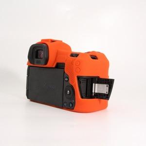 Image 3 - Funda de silicona para Canon EOSR cuerpo Protector de la cubierta de silicona suave cuerpo Protector de goma de cámara caso piel para Canon EOS R