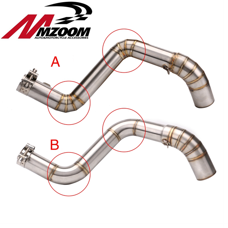 Case Exhaust-Pipe DUKE125 Motorcycle Stainless-Steel for KTM 200 250/Duke/390 Central
